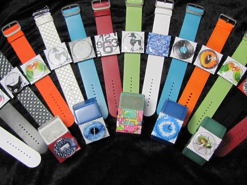 stamps uhren armbänder